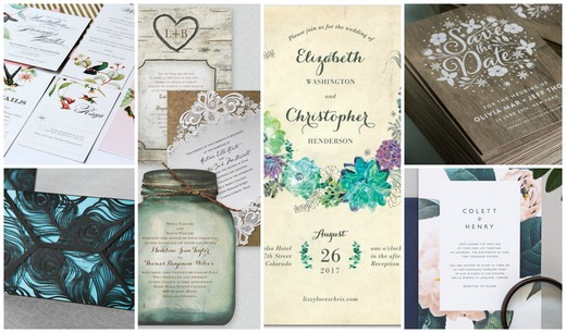creative and unusual party and wedding invitations