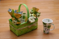 Tea gift basket